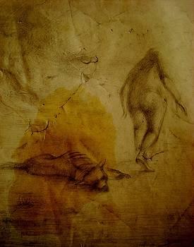men end Animals by Denis Hmylnin