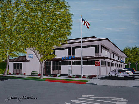Merced Police Department by Clinton Cheatham