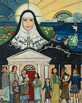 Mercy Foundress Catherine McAuley by Jen Norton