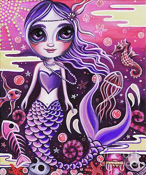 Mermaid at Dusk by Jaz Higgins