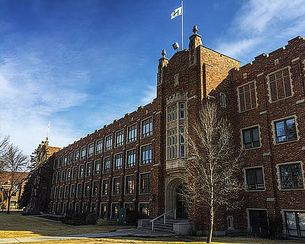 Merrifield Hall at the University of North Dakota by Tom Gort