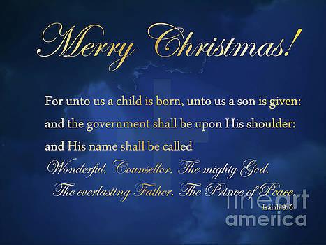 Merry Christmas by Anita Oakley