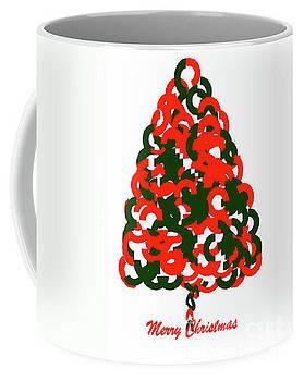 Merry Christmas Ring Tree  by Gayle Price Thomas