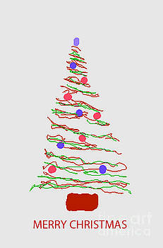Merry Christmas Tree by Fred Jinkins