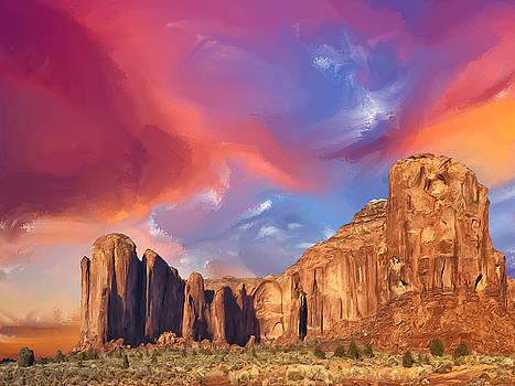 Dominic Piperata - Mesa at Sunset