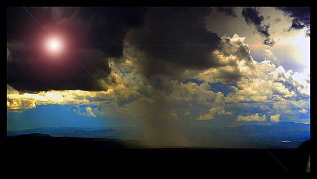 Mesa Thunderstorm Vistas by Susanne Still
