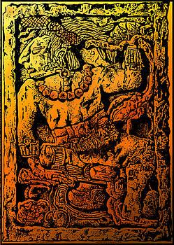 Larry Butterworth - Mesoamerican  Mayan Figure Eight Century Mexico
