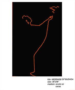Message Of Buddha by Pramod Alte