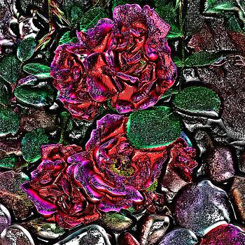 Metal Roses by Susan Kinney