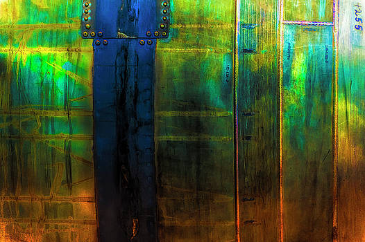 Metalic Abstract by Dee Browning