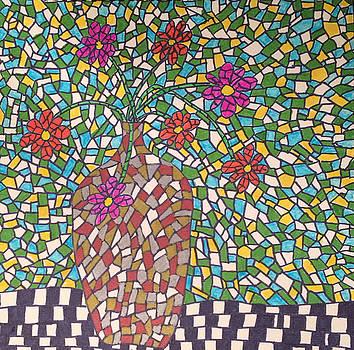 Metallic Vase by Wayne Potrafka