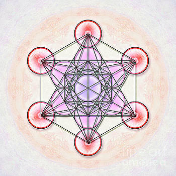 Metatron's Cube - Artwork 1 by Dirk Czarnota