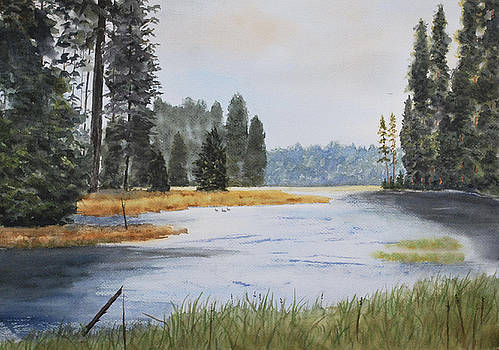 Metolius River Headwaters by Stanton Allaben