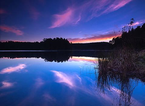 Mew Lake Sunset by Cale Best