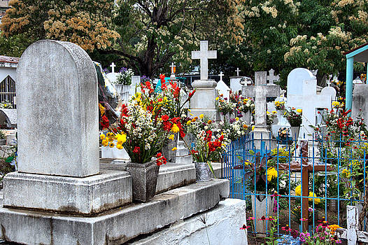 Mexican Cemetery by Jim Walls PhotoArtist