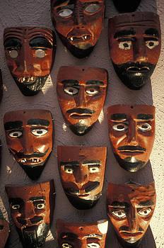 John  Mitchell - Mexican Devil Masks