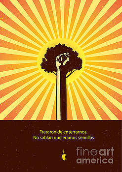 Mexican Proverb by Sassan Filsoof