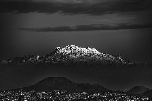 Mexico City Volcano by David Resnikoff