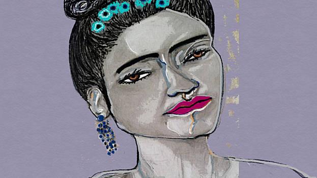 Mi Frida kahlo by Jackie Pecoroni