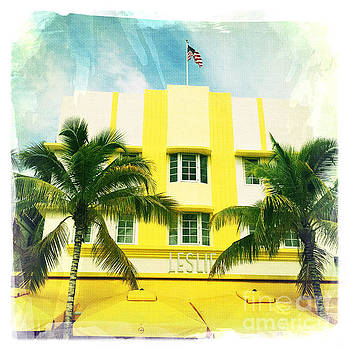 Miami South Beach Ocean Drive 2 by Nina Prommer