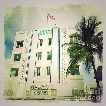 Miami South Beach Ocean Drive 3 by Nina Prommer