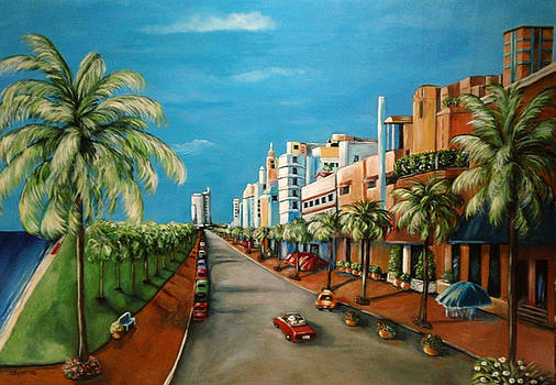 Miami View by Dyanne Parker