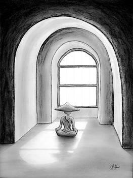 Micah Monk 04 - Morning Meditation by Lori Grimmett