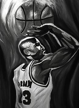 Michael Jordan 5 by Mikayla Ziegler