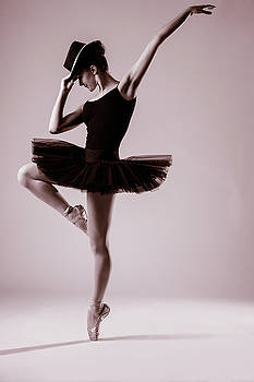 Michael on Pointe 2 by Monte Arnold