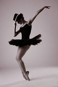 Michael on Pointe by Monte Arnold