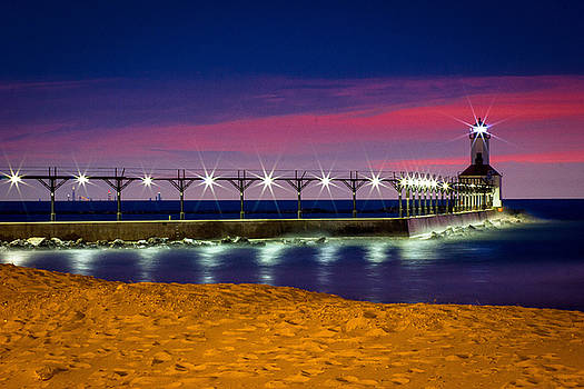 Michigan City Lighthouse by Jackie Novak
