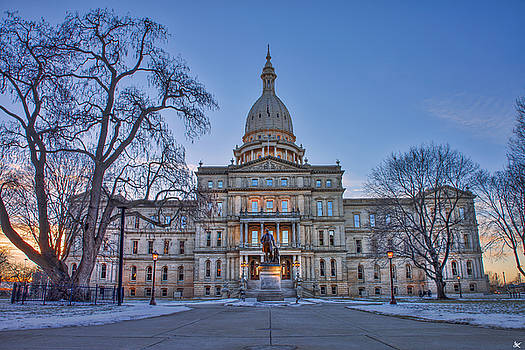 Michigan State Capitol by Nicholas Grunas