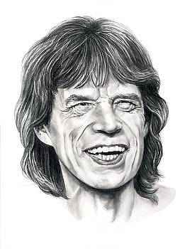 Mick Jagger by Murphy Elliott