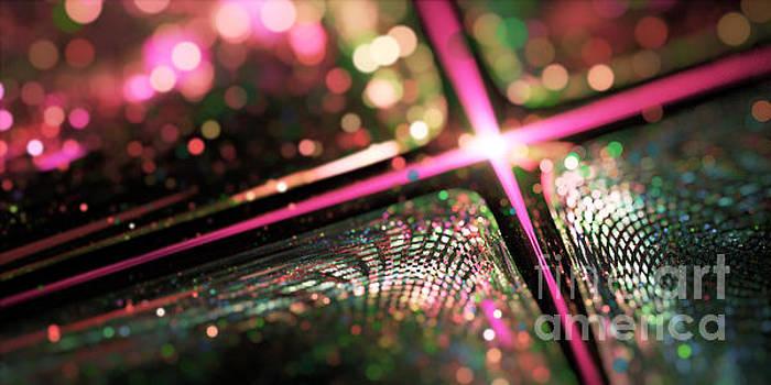 Microskopic VI - Disco Fever by Sandra Hoefer