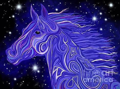 Nick Gustafson - Midnight Blue Mustang