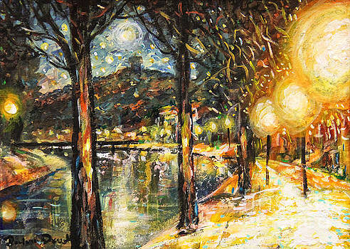Midnight Reflections by Dariusz Orszulik