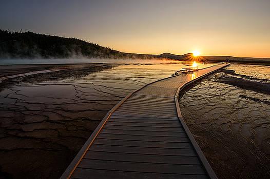 Midway Basin Sunset by Dan Mihai