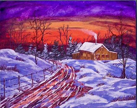 Midwest Winter by J Ringo