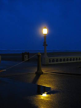 Midwinter Night on the Prom by Gregory Smith