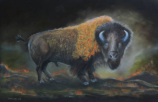 Mighty Bison by Jerry McElroy