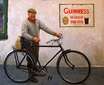 Mike and His Bike- Ireland by Martin Driscoll