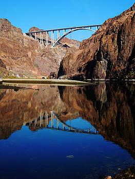 Mike O'Callaghan - Pat Tillman Memorial Bridge by Alan Socolik