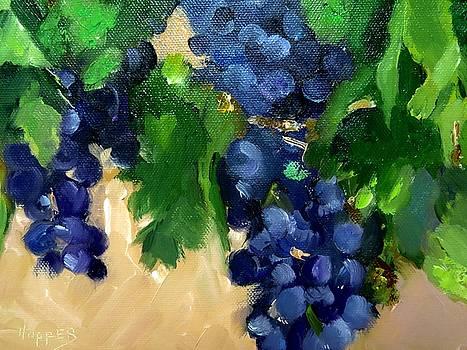 Milagro Vineyard Purple by Carol Hopper