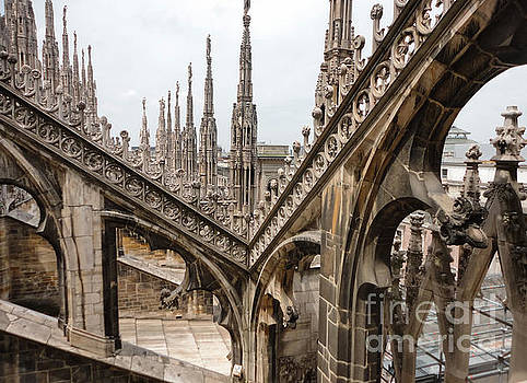 Gregory Dyer - Milan Cathedral Buttress