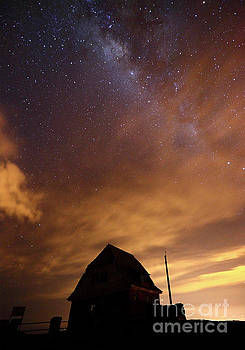 James Brunker - Milky Way Above Old Ski Hut at Mt Chacaltaya 1