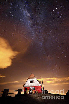 James Brunker - Milky Way Above Old Ski Hut at Mt Chacaltaya 3