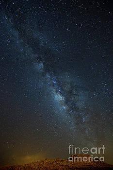 Charmian Vistaunet - Milky Way over Puukohola Heiau