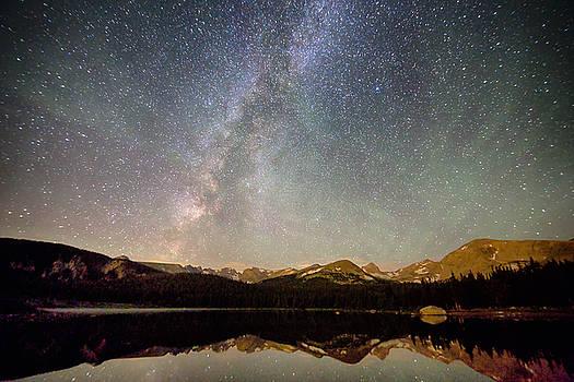 James BO  Insogna - Milky Way Over The Colorado Indian Peaks
