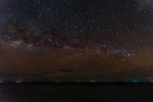 Milky Way over the Maldives by Stuart Gennery