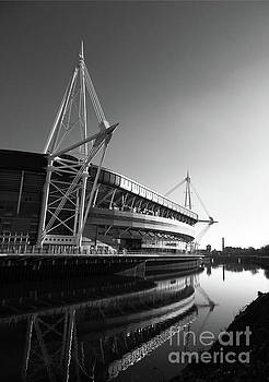 James Brunker - Millennium Stadium and River Taff